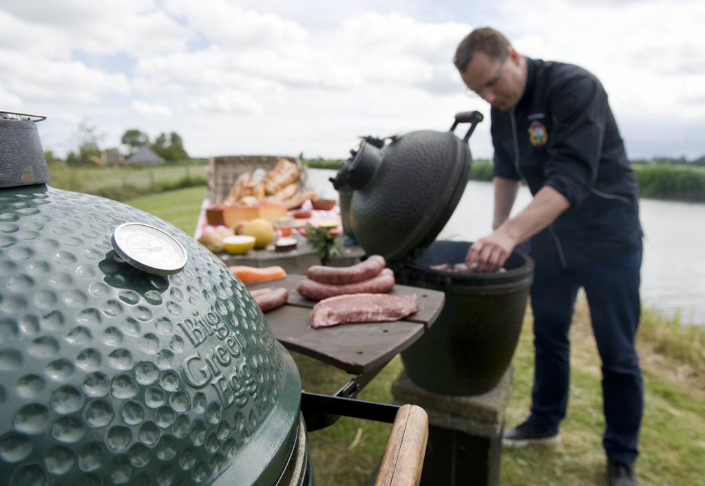 Westfriese tafel BBQ op de Big Green Egg