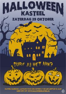 Halloween in Kasteel Radboud