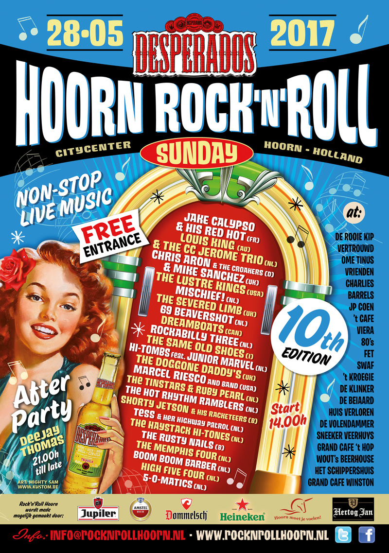 Hoorn van 28 mei: Rock 'n Roll sunday