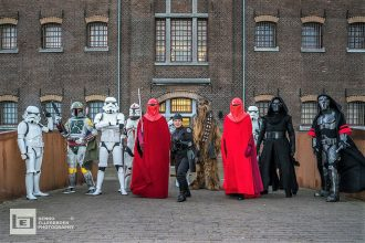 Star Wars figuren met Pinksteren in het museum